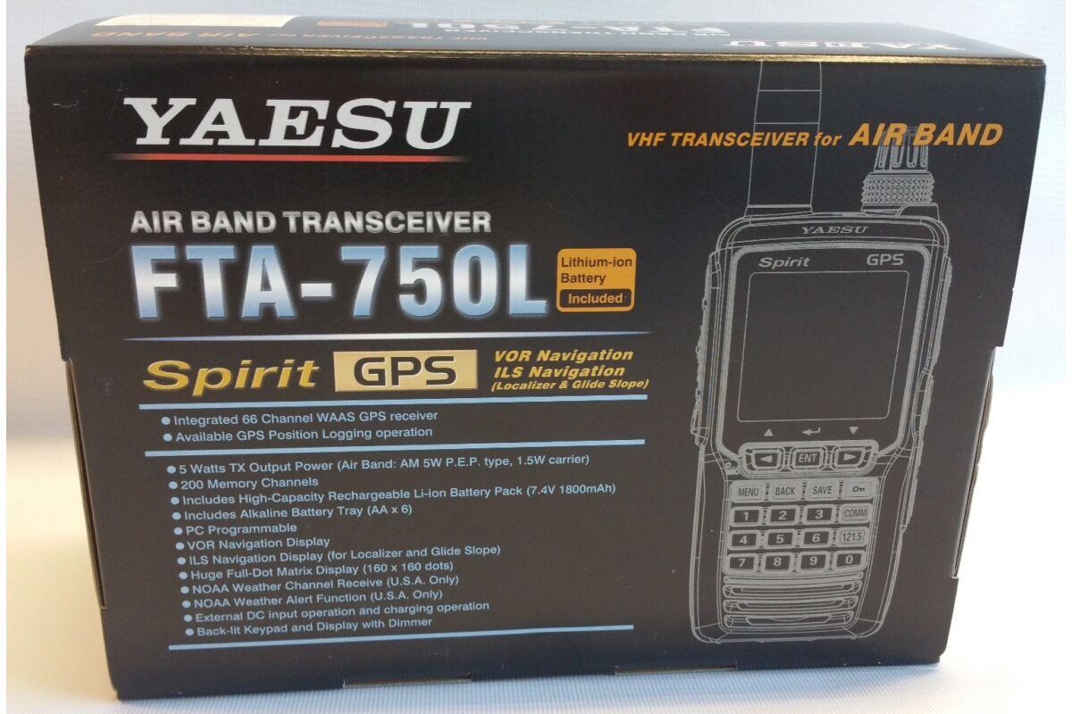 9d5d5d7f5c7 YAESU FTA-750L AIRBAN HANDHELD RADIO