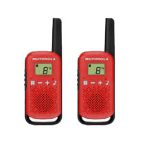 Motorola TALKABOUT T42 RED WALKIE TALKIE