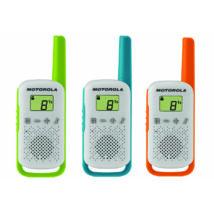 Motorola TALKABOUT T42 TRIPLE PACK WALKIE TALKIE