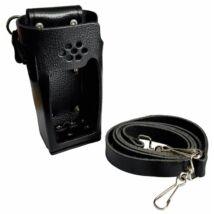 Standard Horizon SHC-18 LEATHER CASE WITH BELT LOOP AND SHOULDER STRAP / HX-400