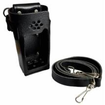 Standard Horizon SHC-18 LEATHER CASE WITH BELT LOOP AND SHOULDER STRAP / HX-400