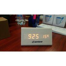 Anico asztali óra hőmérséklet kijelzővel