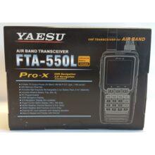 Yaesu FTA-550L box