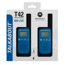 Motorola Talkabout T42 walkie talkie