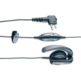 Motorola MDPMLN4443A  MAGONE EARPIECE W/IN-LINE MIC & PTT / XT,CP,DP1000/FT25/65E / FT-4XE, FT-4VE