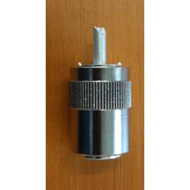 PL259 UHF connector / RG-8, RG-213, RG-214 LMR-400, H1000A