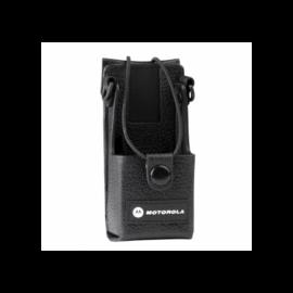 LEATHER CARRY CASE / Motorola DP1400