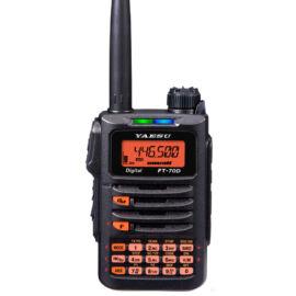 Yaesu FT-70DE-B2 C4FM/FM VHF/UHF KÉTSÁVOS KÉZI ADÓVEVŐ