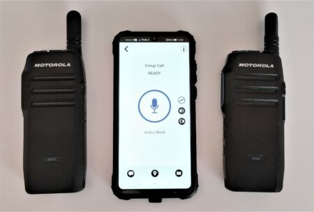 Motorola WAVE TLK100I + App