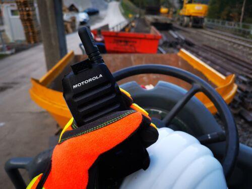 Motorola WAVE TLK100I - ipari környezetben