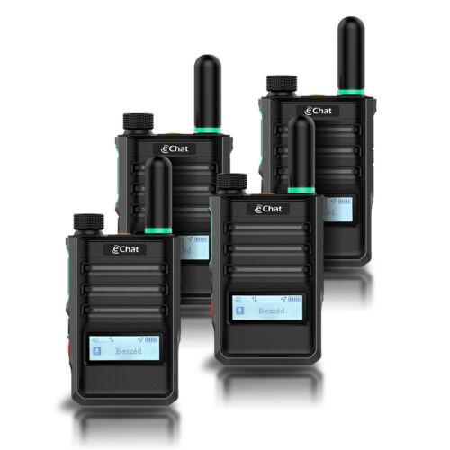 eChat Lite Quad - eChat E350 PoC Internetalapú adóvevő Quad Pack