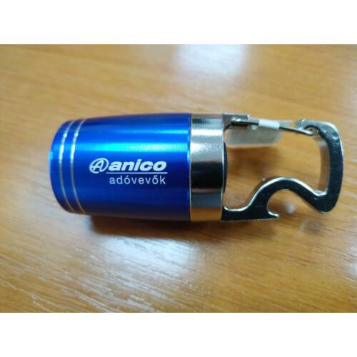 Anico elemlámpa üvegnyitós karabinerrel