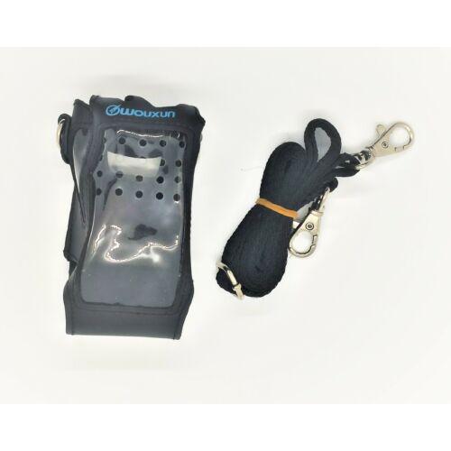 Wouxun LCO-006 bőrtok KG-UVD1, KG-UVD1P rádiókhoz