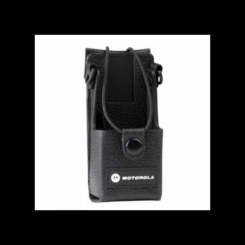 Bőr hordtok övre - Motorola DP1400 rádióhoz