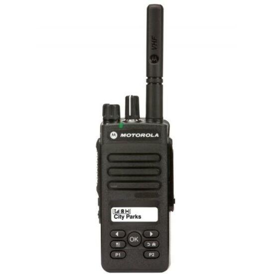 Motorola DP2600 403-527 MHz 4W ipari adóvevő