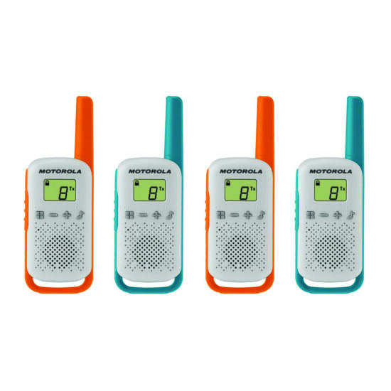 Motorola Talkabout T42 Quad walkie talkie