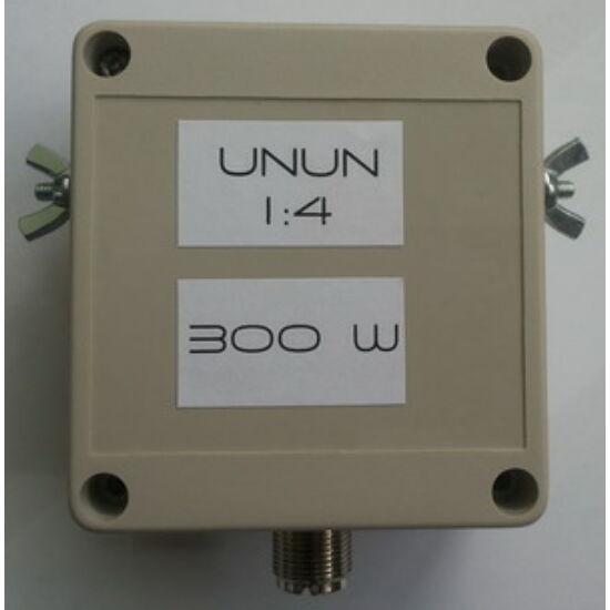 UNUN 4:1; 1,8-30 MHz; MAX 300W