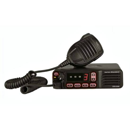 Vertex Standard EVX-5300-G6-25 (CE) 403-470 MHz DIGITÁLIS MOBIL RÁDIÓ